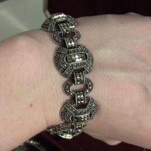 Judith Jack Sterling Marcasite bracelet